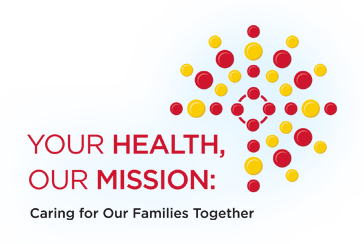 Your Health, Our Mission Logo